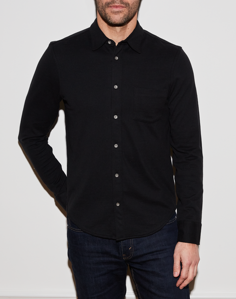 Wilson Button Down - Black
