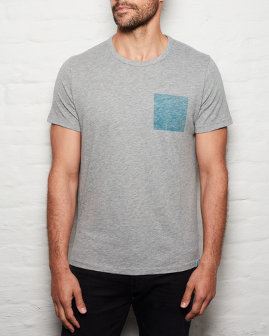 Blue Square T - H. Grey