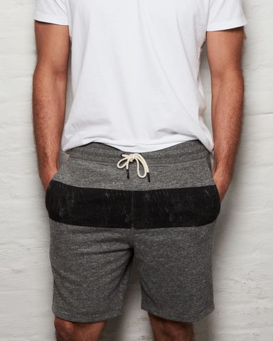 Distressed Shorts - H. Grey