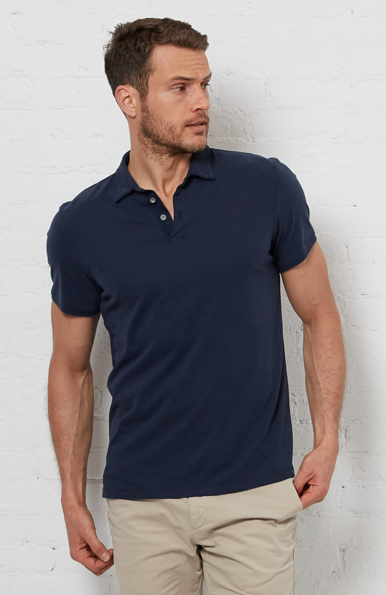 Lewis Polo - Navy