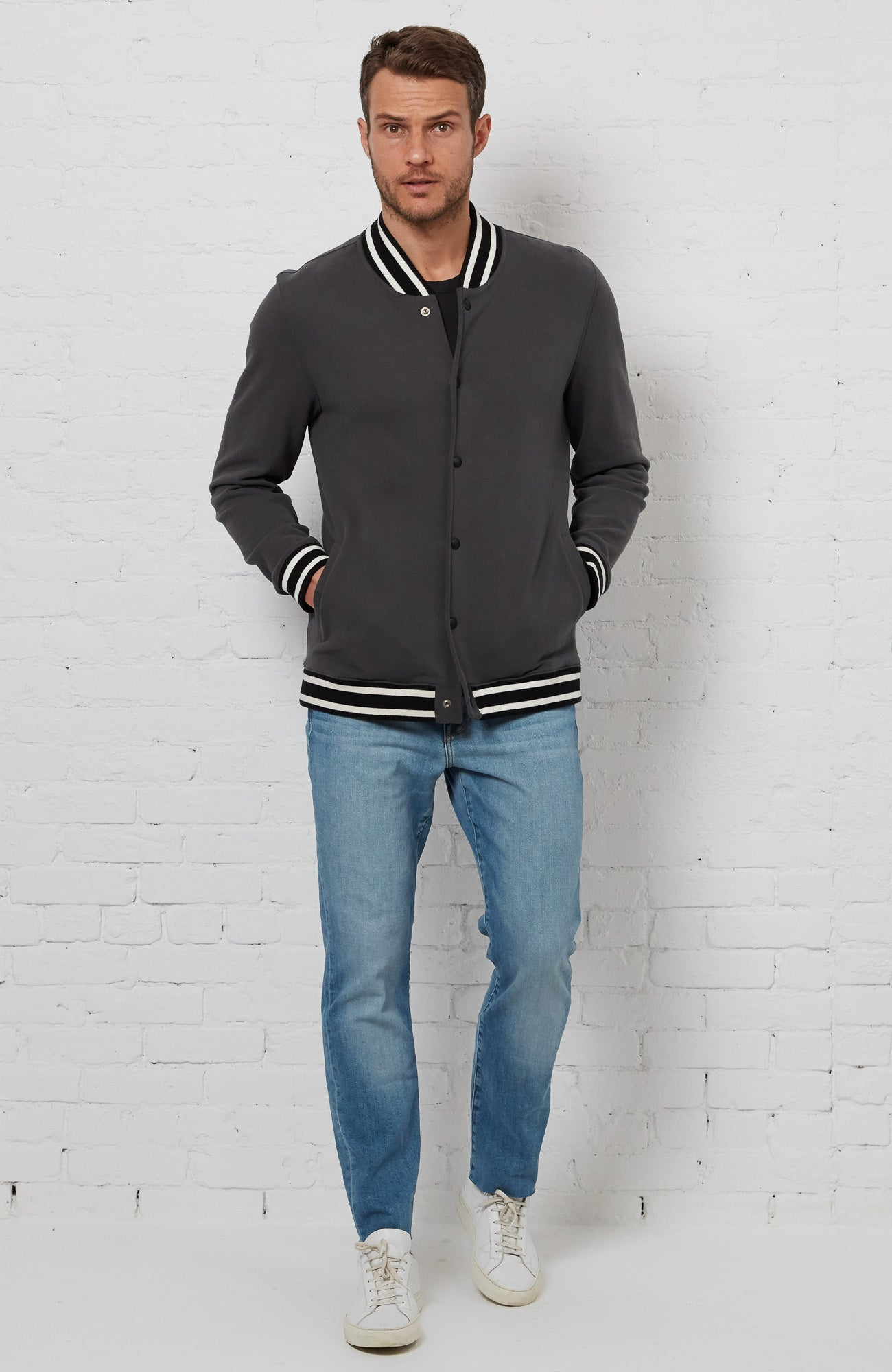 Heyward Jacket - Charcoal