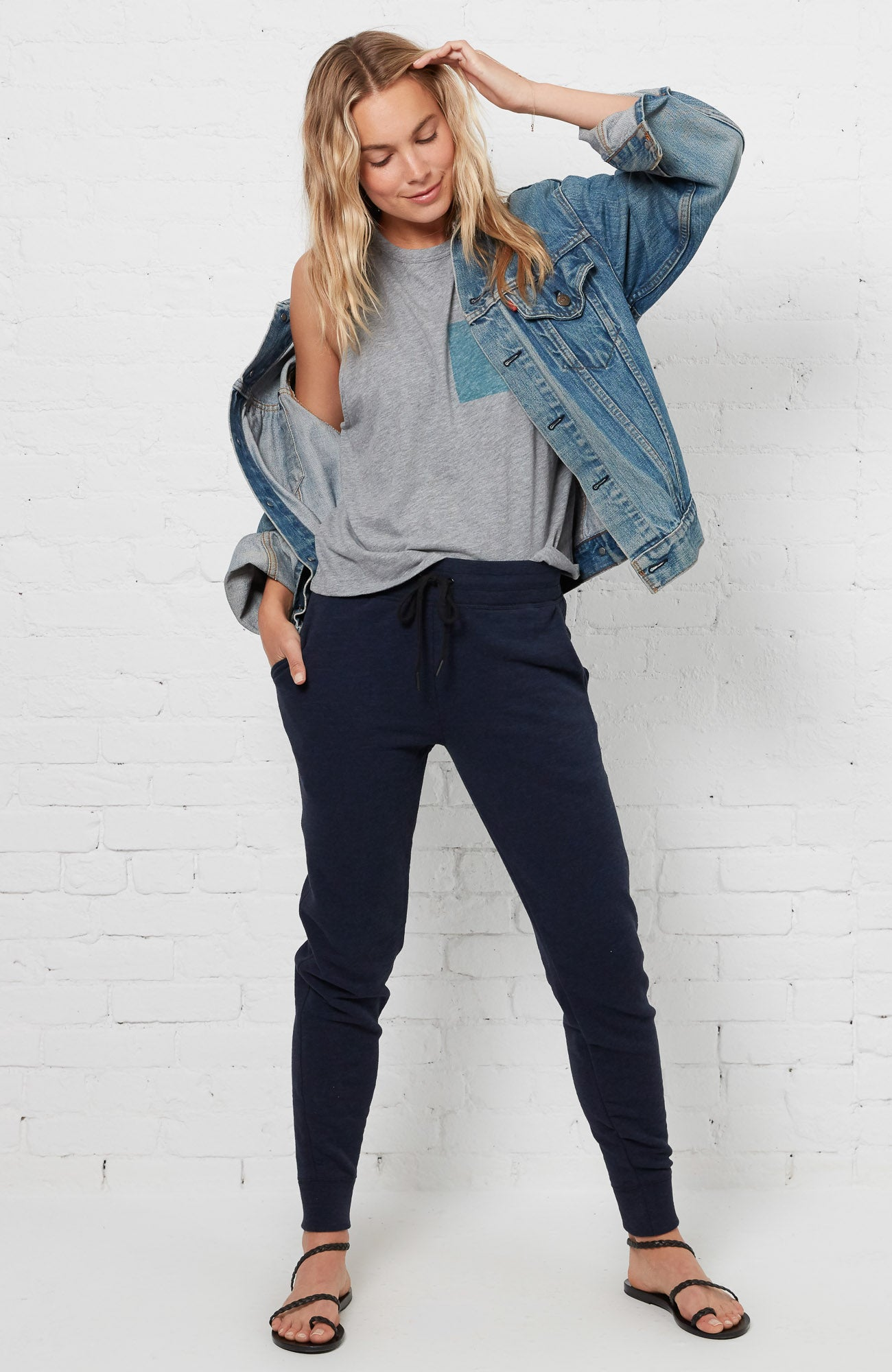 Eliza Pants - Navy