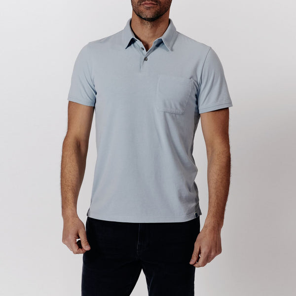 Watson Polo - Powder Blue