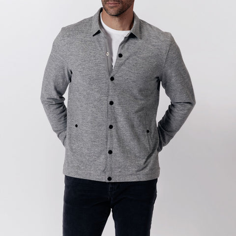 Coach's Jacket - Heather Grey