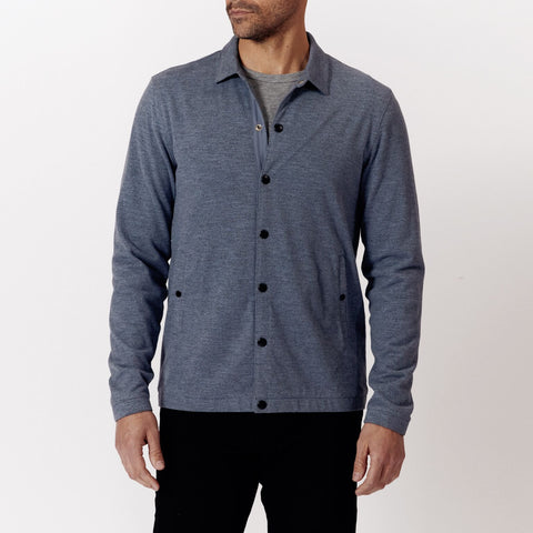 Coach's Jacket - Heathered Indigo