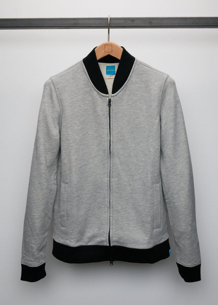 Ditka Varsity Jacket - Heather Grey