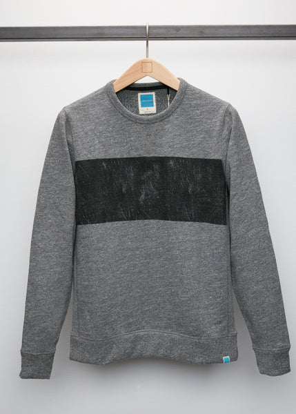 Distressed Crew - Grey