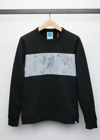 Distressed Crew - Black