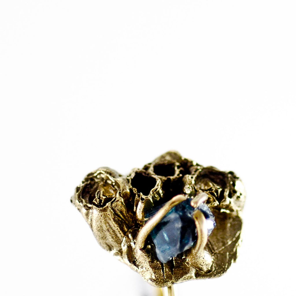 SEA GODDESS TOURMALINE GOLD RING