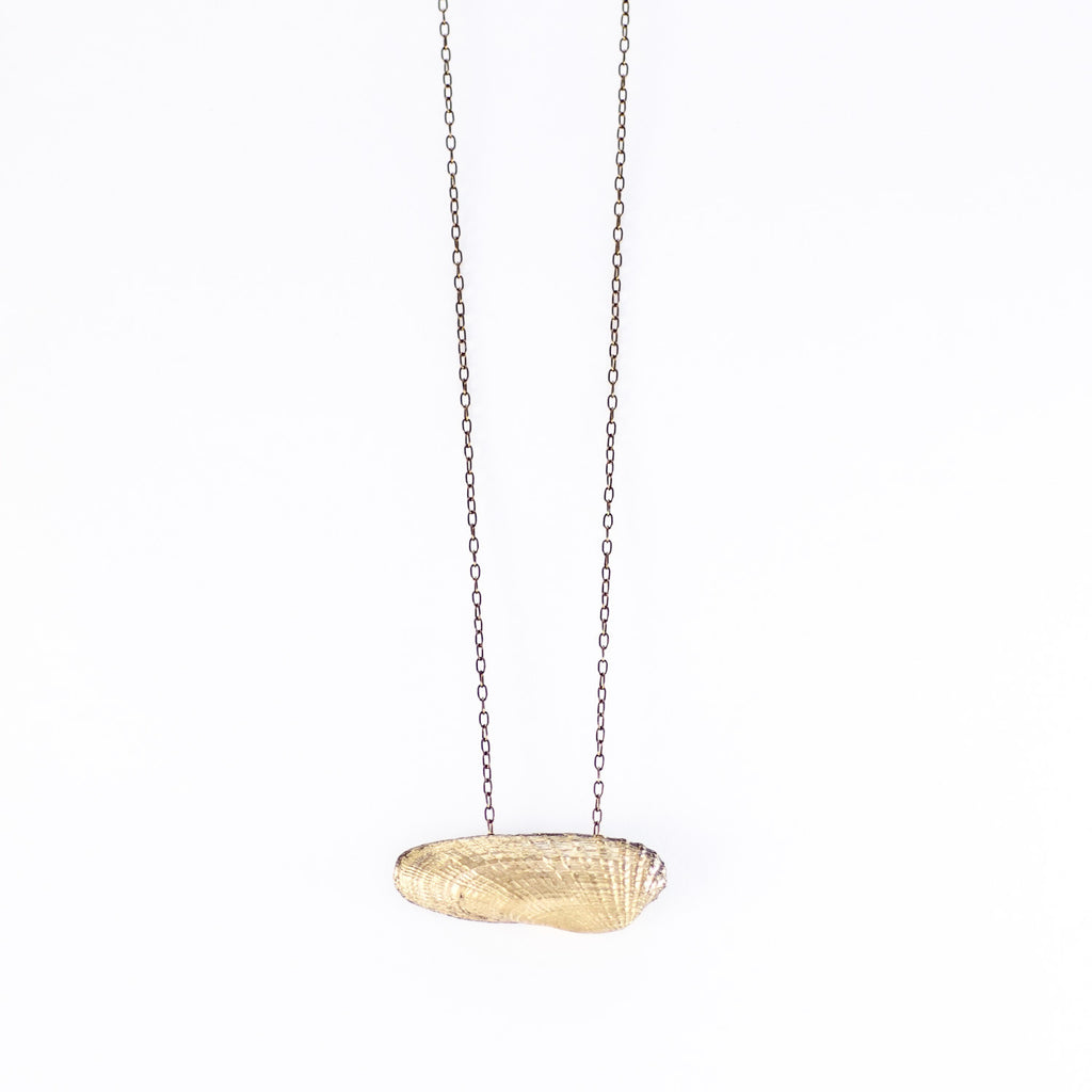 dainty gold + SIlver ANGEL WING NECKLACE