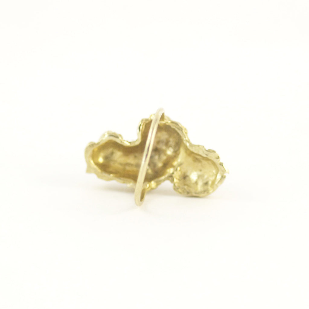 BARNACLE ROW GOLD RING
