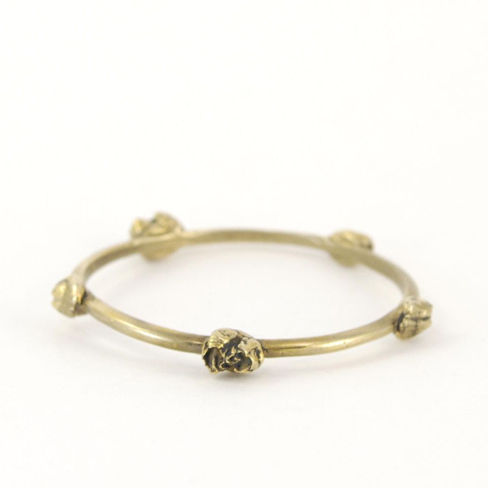 ELEGANT BRONZE BARNACLE BANGLE