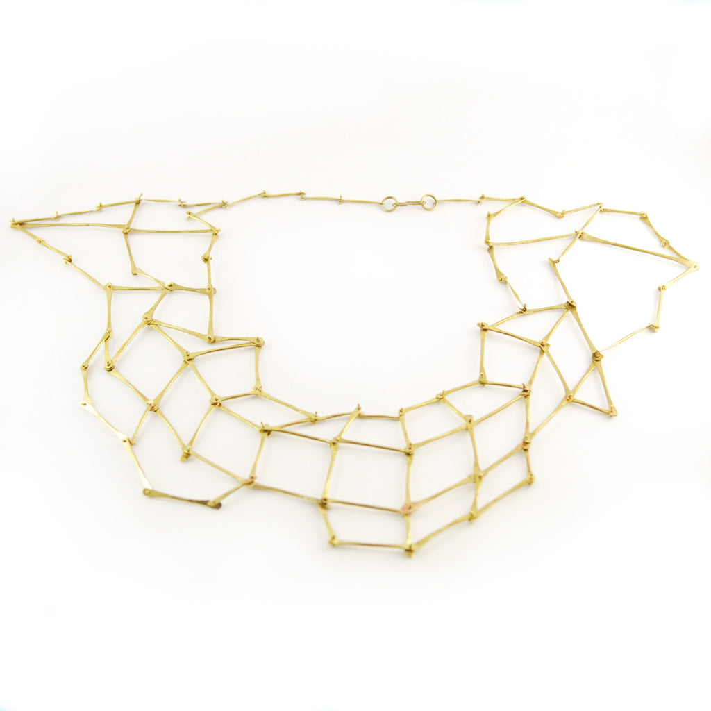Organic Seagrass Inspired, Gladiator Convertible Shawl Necklace