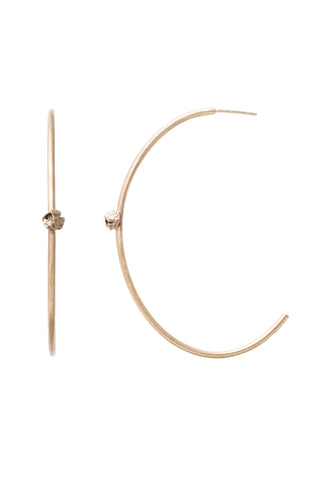 GOLD BARNACLE HOOPS