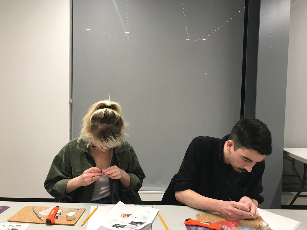 The Collective 3/16/21: A SEA-INSPIRED RING CARVING WORKSHOP WITH CAT MCCADDEN