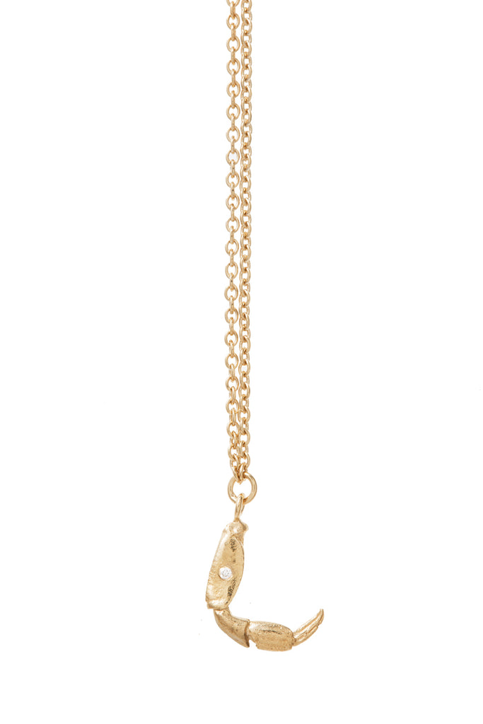 Crab & Ocean Inspired, Kino Diamond Necklace