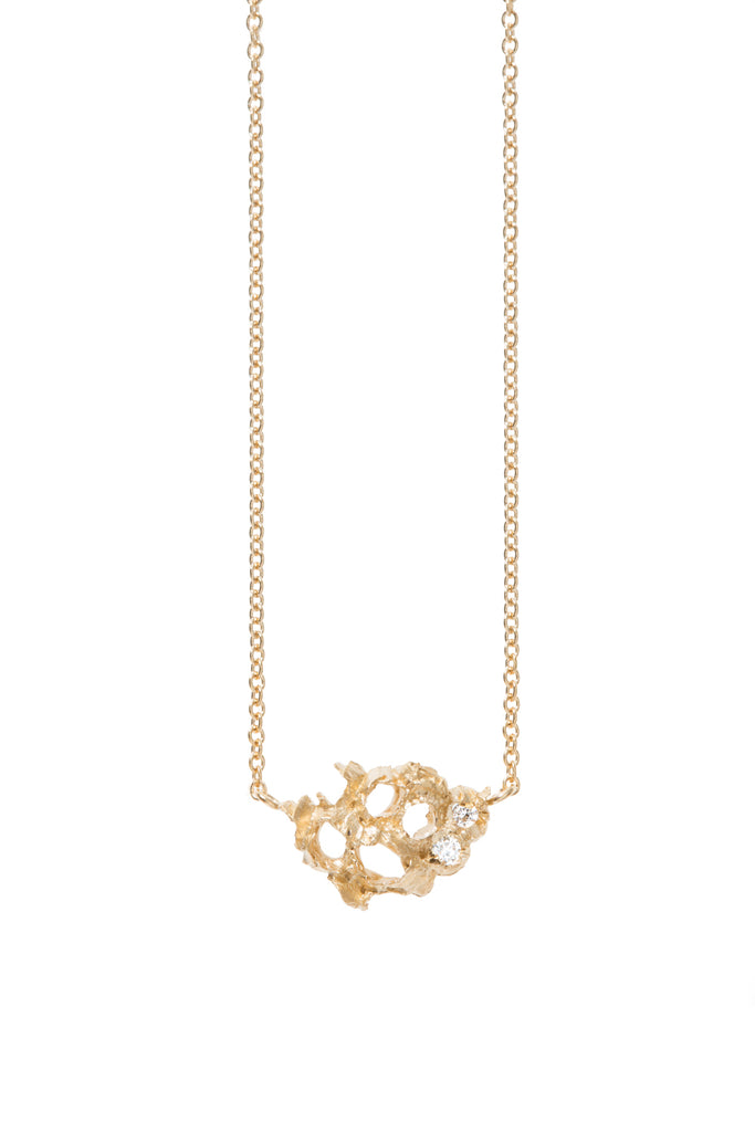 Airy + Elegant Sea Inspired, VENN DIAMOND NECKLACE