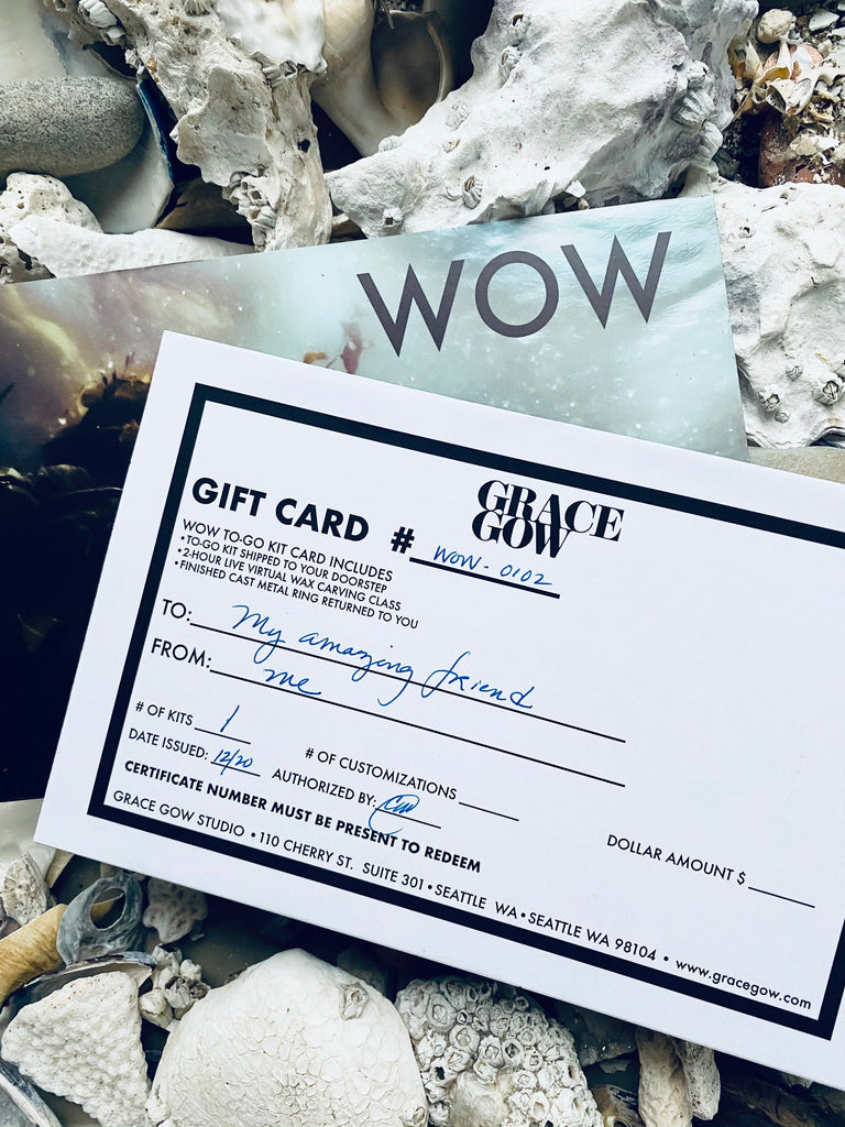 WOW KIT: A SEA-INSPIRED GIFT CARD