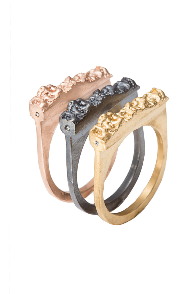 CAVE PAVE RING MINOR