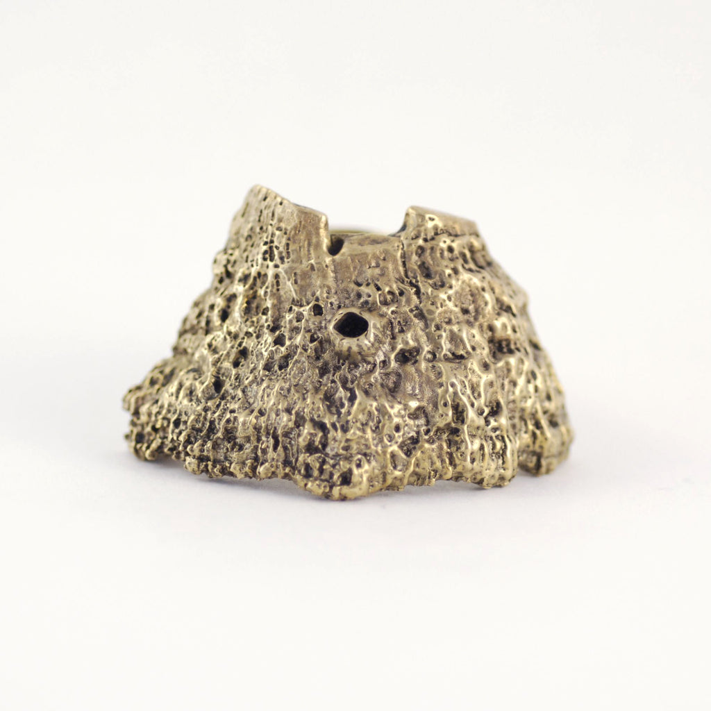Bronze BARRIER REEF Inspired BARNACLE RING