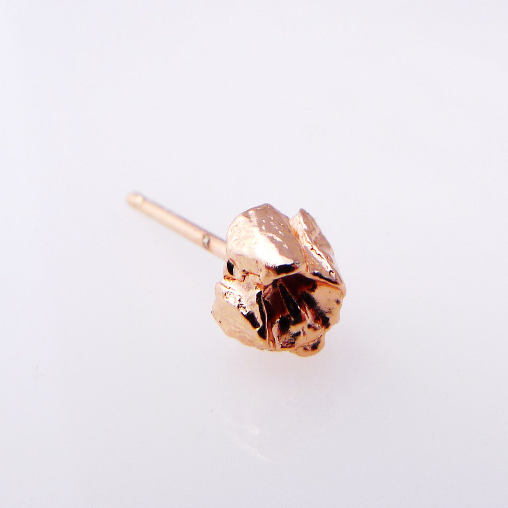 Rose Gold BEBE Barnacle Studs