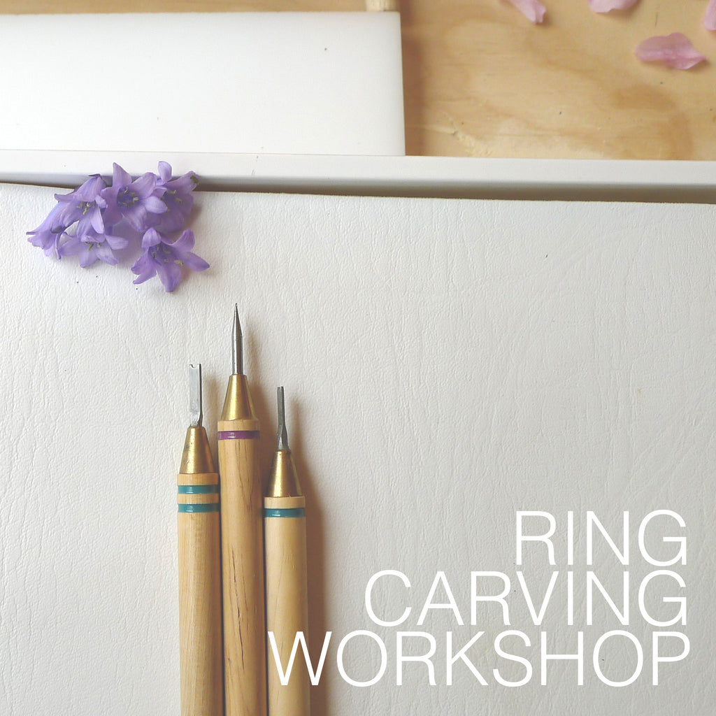Wax On Workshop: Ring Carving at Three Trees Books