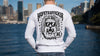 HopeTrafficker - Men's Long Sleeve Shirt - Handprinted Excellence