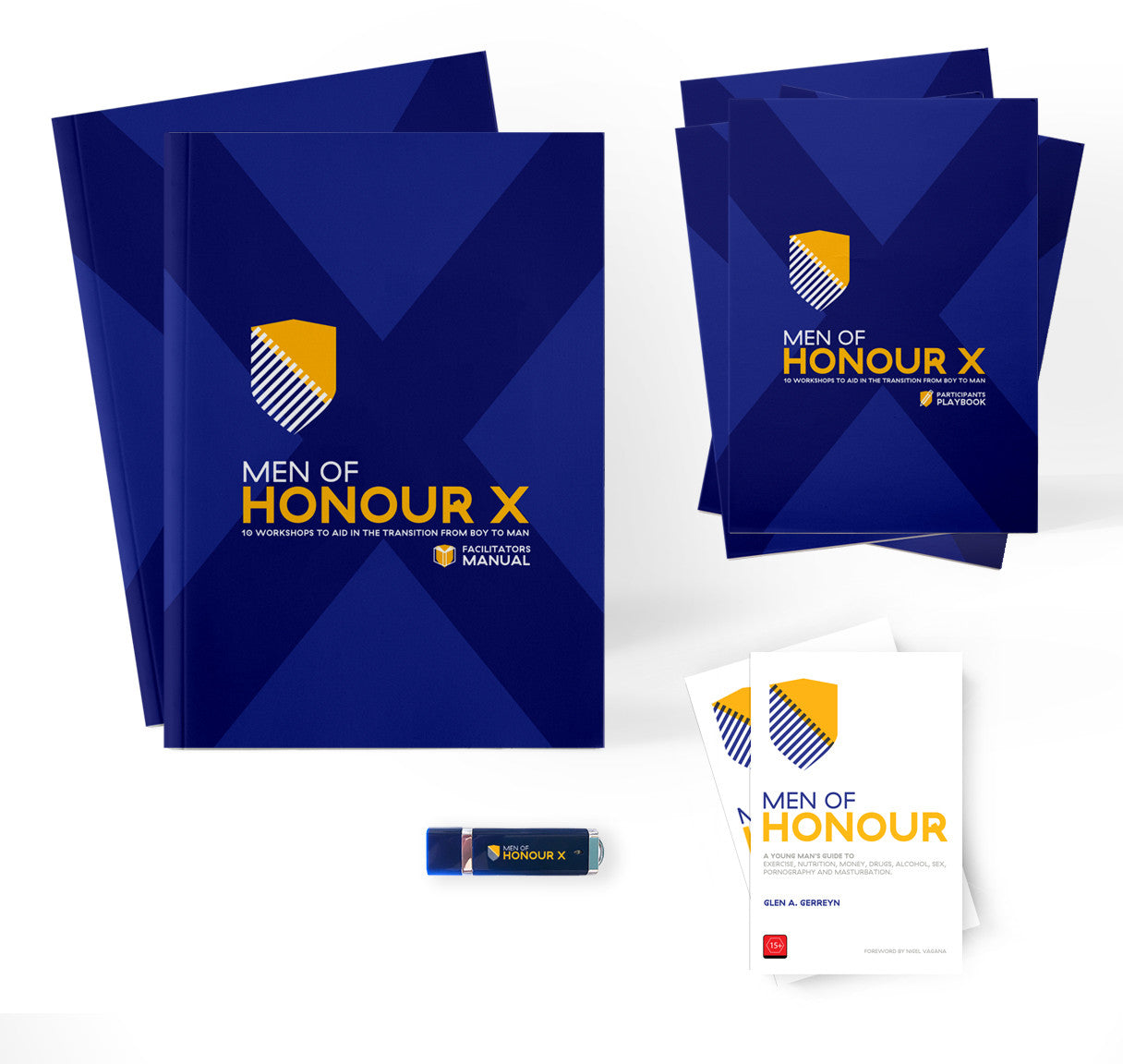MEN OF HONOUR X   -   STARTER PACK:    10 Workshops to Aid in the Transition from Boy to Man.