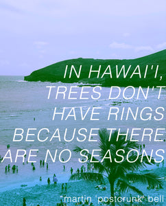 In Hawai'i, Trees Don't Have Rings Because There Are No Seasons (audiobook)