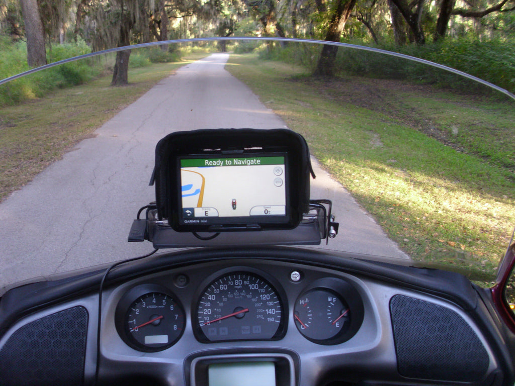 Nuvi GPS Mount Adaptor for Honda Goldwing Motorcycles