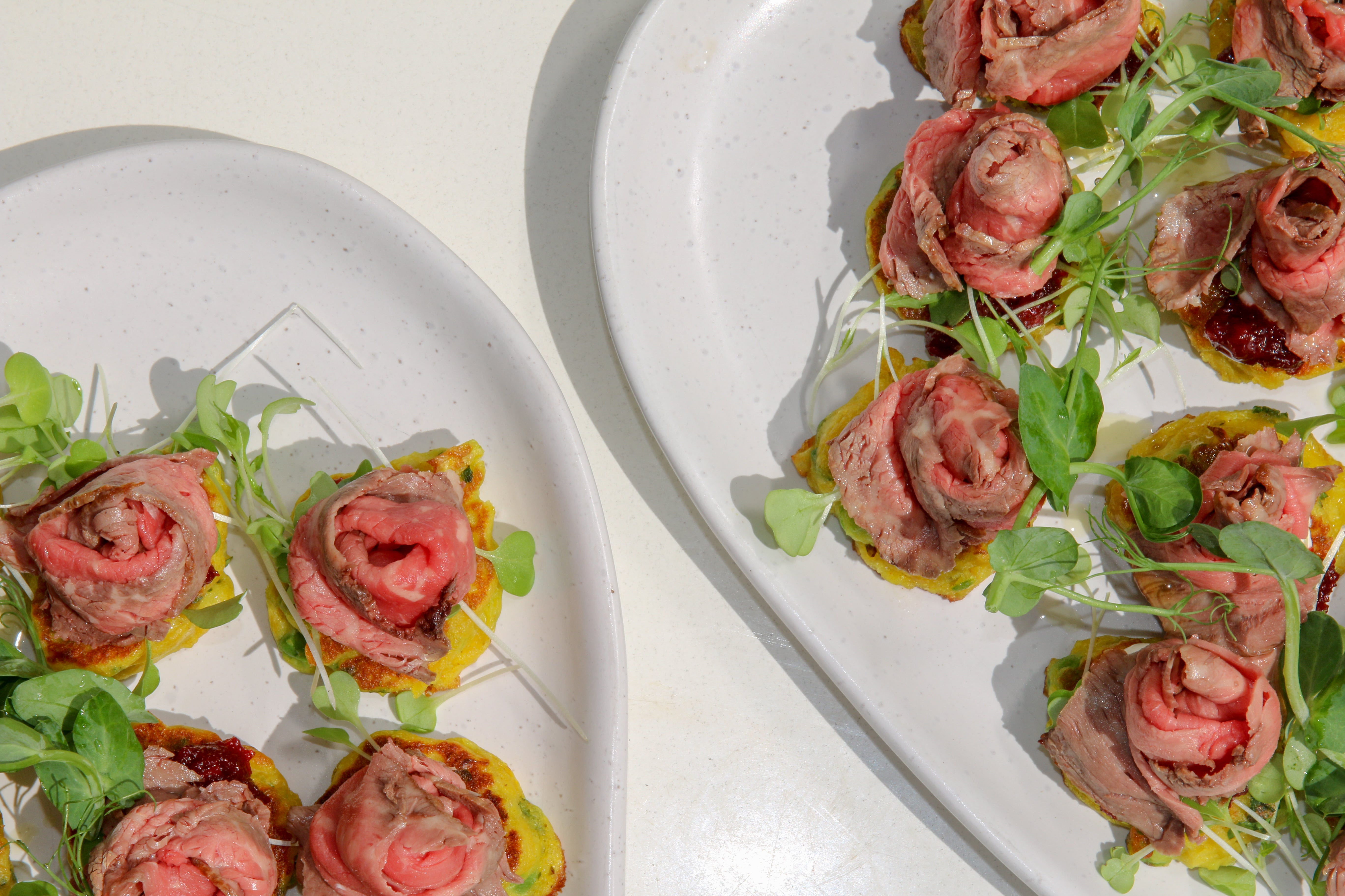 Beef Fritters from Catroux's Canape Catering Menu