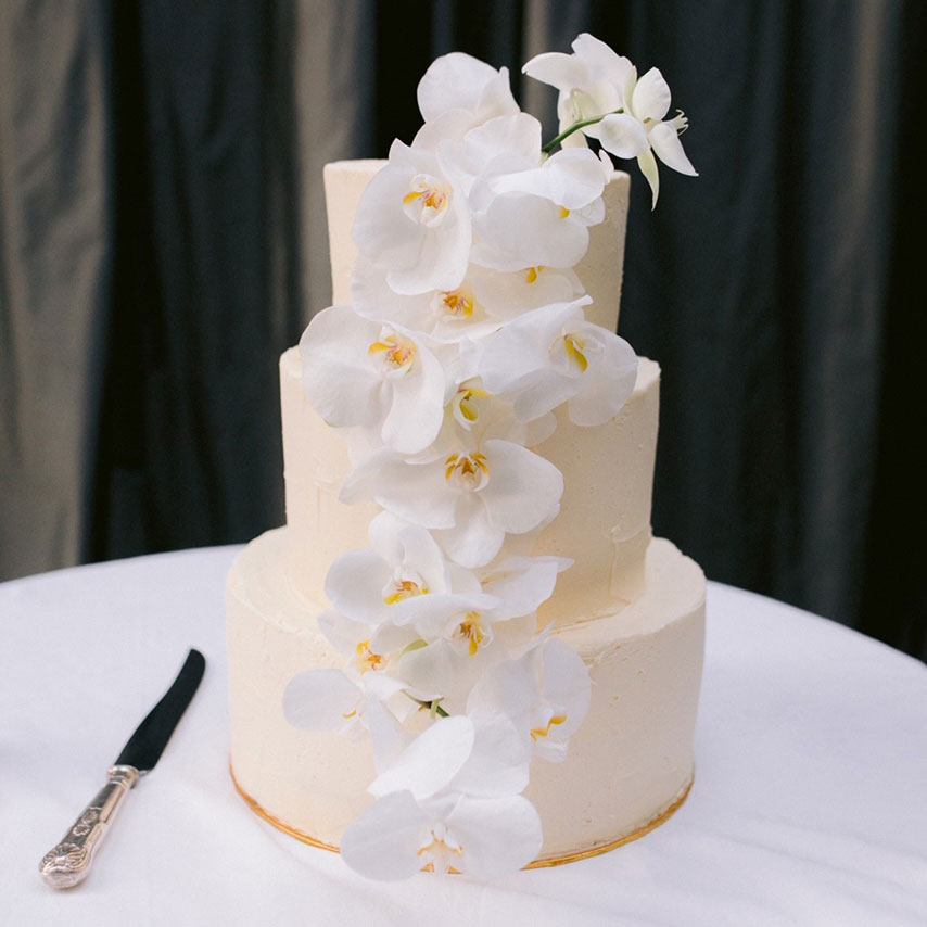 Wedding Cake by Catroux Catering