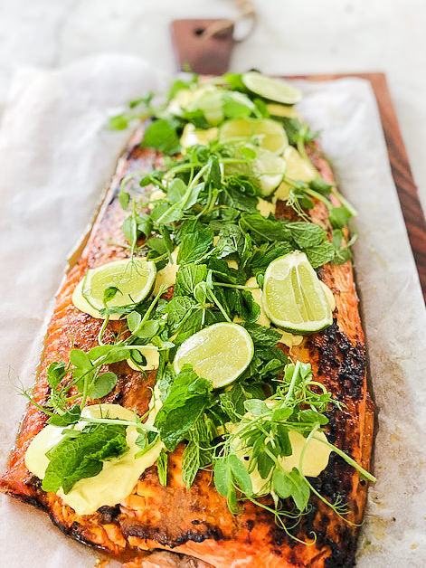 Indian Salmon Fillet GF, DF, NF / Serves 15