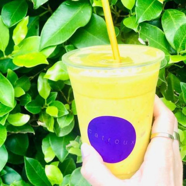 Turmeric collagen glow smoothie