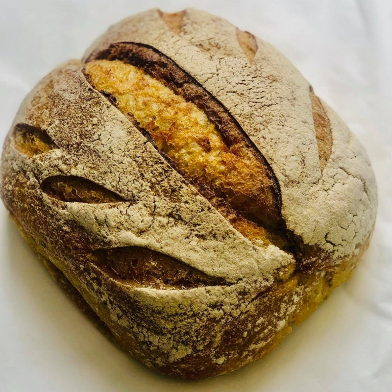 Kumara sourdough loaf