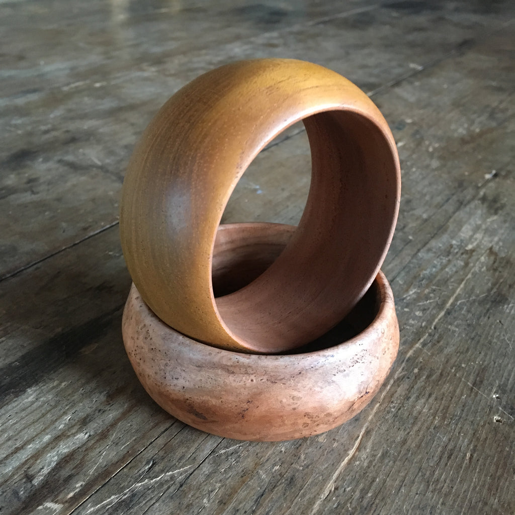 Bangle, mahogany No. 4