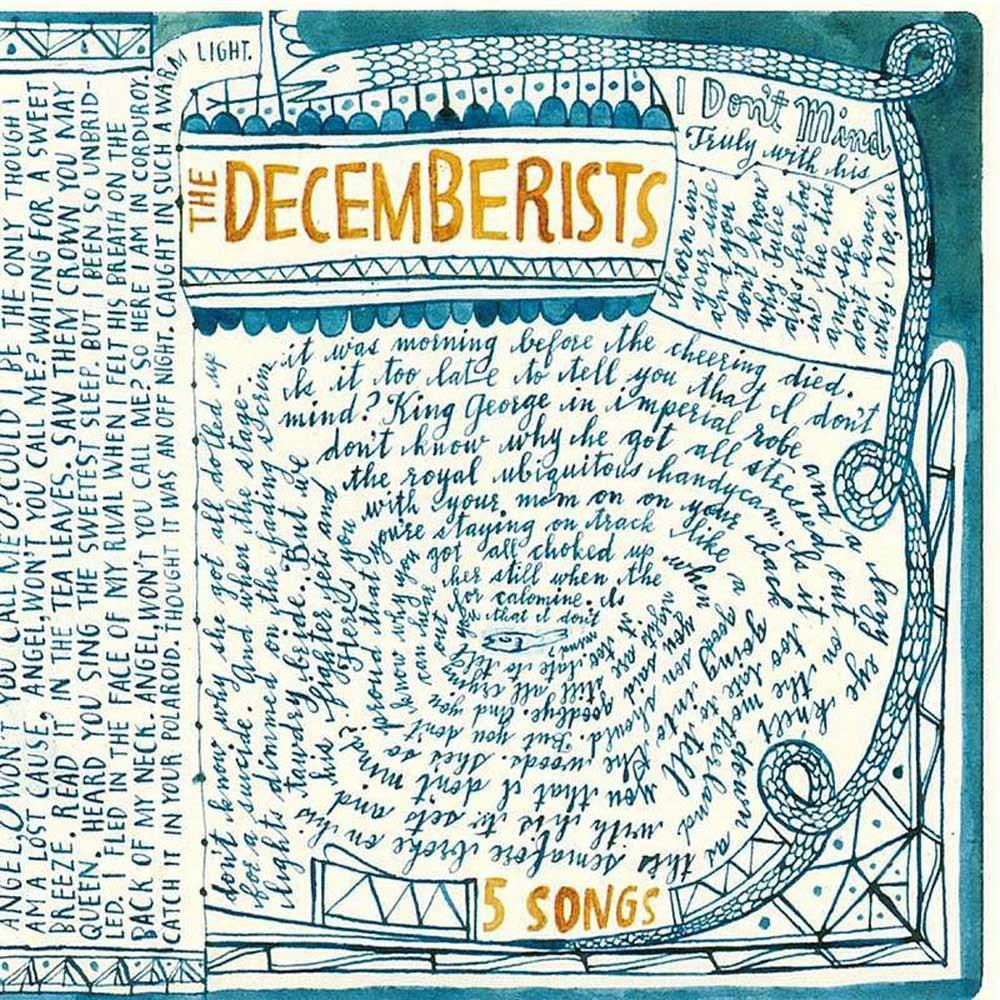 The Decemberists '5 Songs' CD