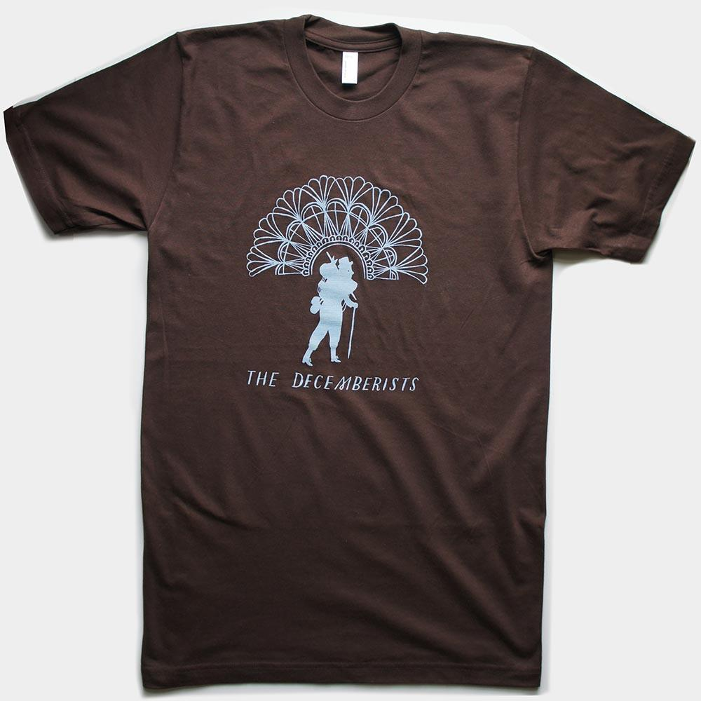 "Unisex Brown ""Popes Of Pendarvia"" Tour T-shirt"