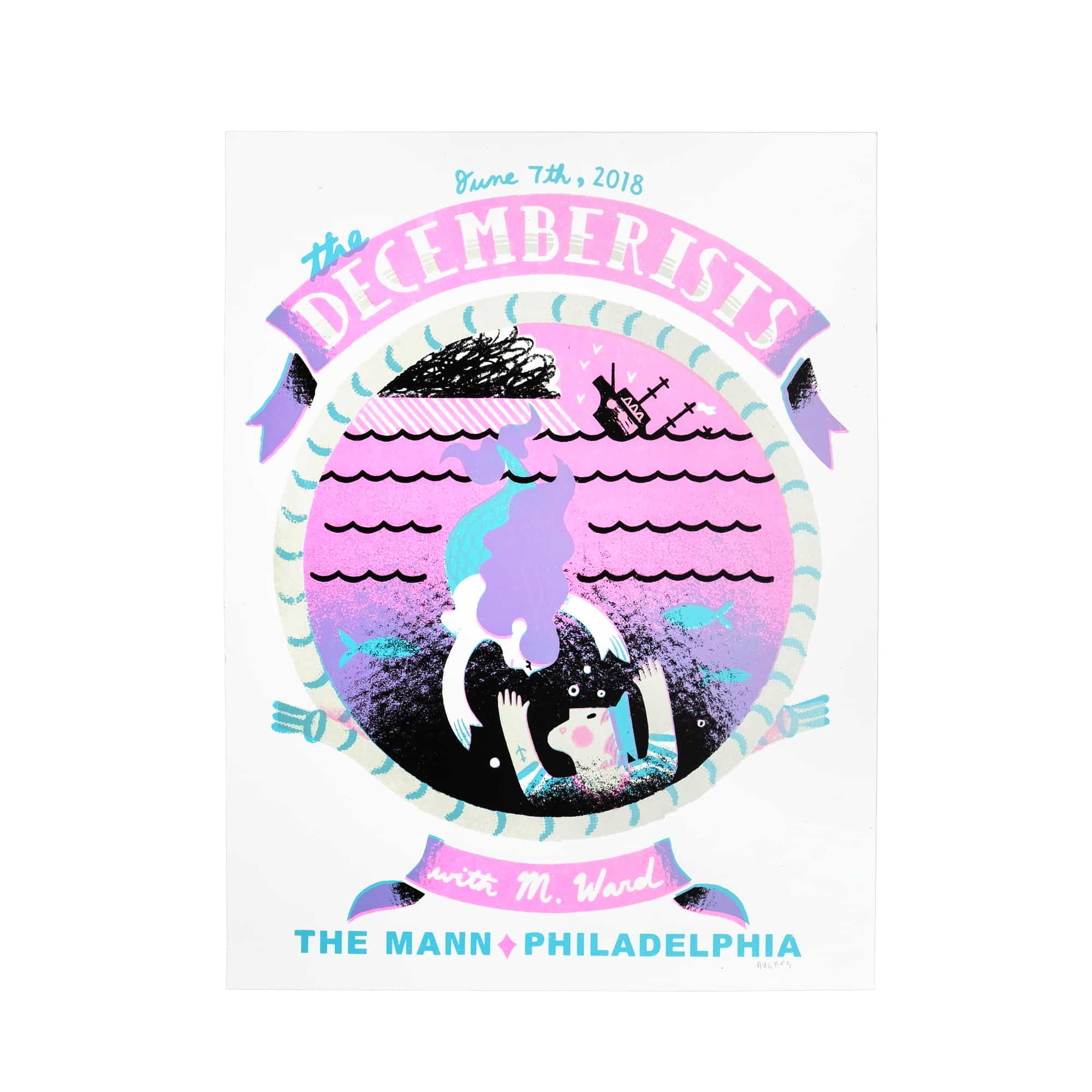 The Decemberists At The Mann in Philadelphia, PA June 7th 2018 Poster - 19