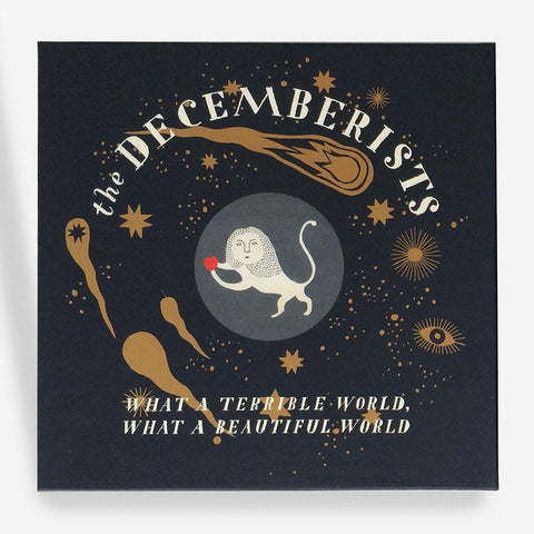 "Decemberists ""What A Terrible World, What A Beautiful World"" Deluxe Autographed Box Set"