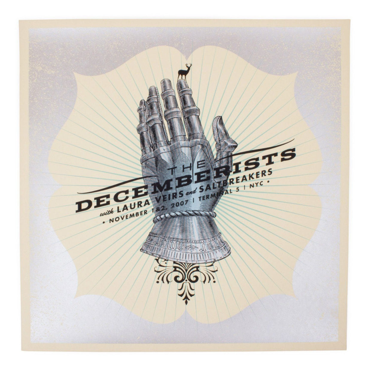 The Decemberists NYC 2007 Limited Edition Show Poster - 19