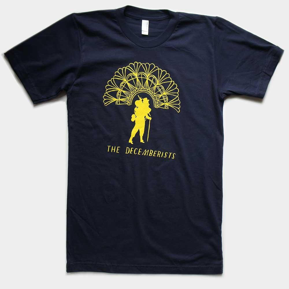 "Unisex Navy ""Popes Of Pendarvia"" Tour T-shirt"