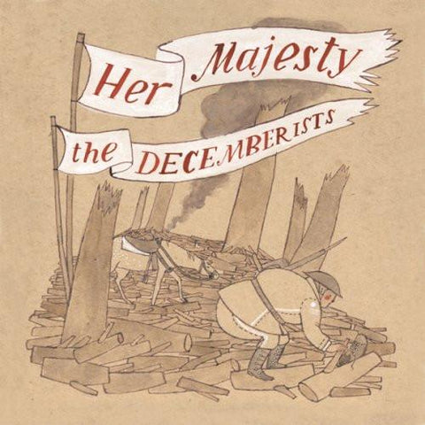 Her Majesty The Decemberists Vinyl LP