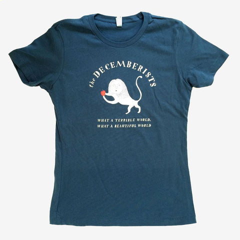 Womens Decemberists What A Terrible/Beautiful World Tour T-shirt
