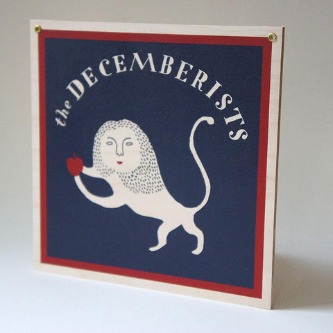 Decemberists Outpost Sign/Placard