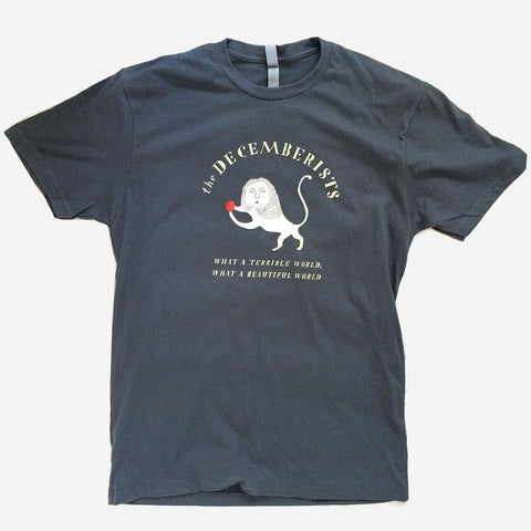 Unisex Decemberists What A Terrible/Beautiful World Tour T-shirt