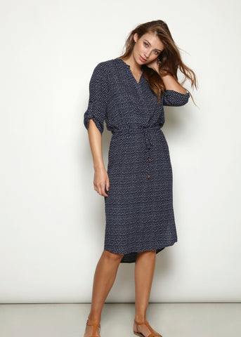 Soaked In Luxury Abella Shirt Dress
