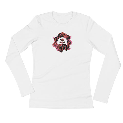"""Roses"" Ladies' Long Sleeve T-Shirt"