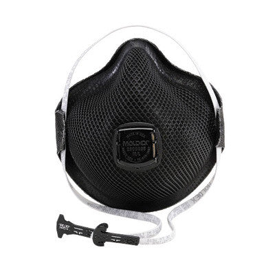 Moldex Medium - Large N95 Special Ops Disposable Particulate Respirator With Ventex Exhalation Valve, HandyStrap And Dura-Mesh Shell - Meets NIOSH, ANSI And ISEA Standards