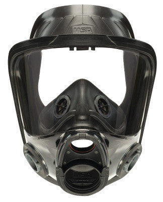 MSA Medium Hycar Advantage 4000 Full Face Twin Port Facepiece With Nosecup, Bayonet Adapters In Lens And Net Head Harness (For Use With Advantage 4100 Full Facepiece Respirator)